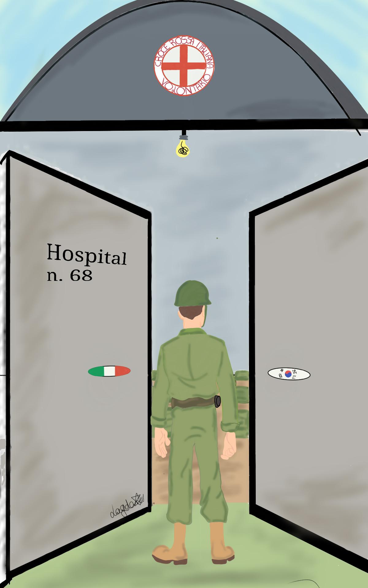 Italian\'s illustrations mark 70th anniversary of Korean War\'s outbreak